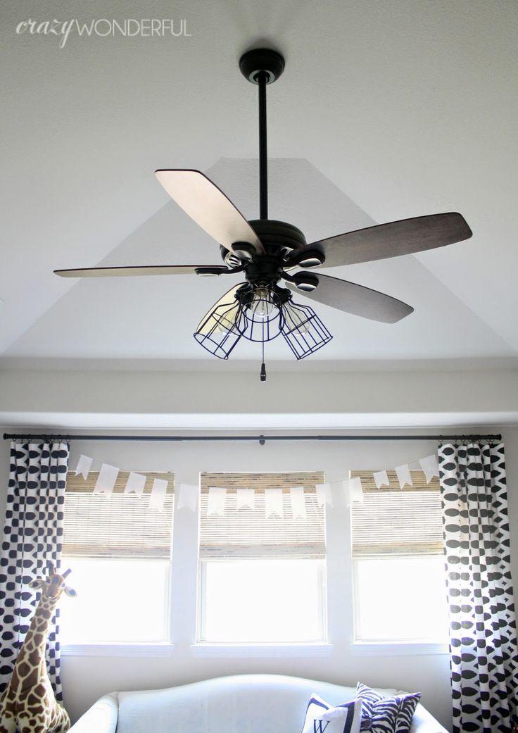 204 best unique lighting ideas images on pinterest - Unique ceiling fans for bedrooms ...