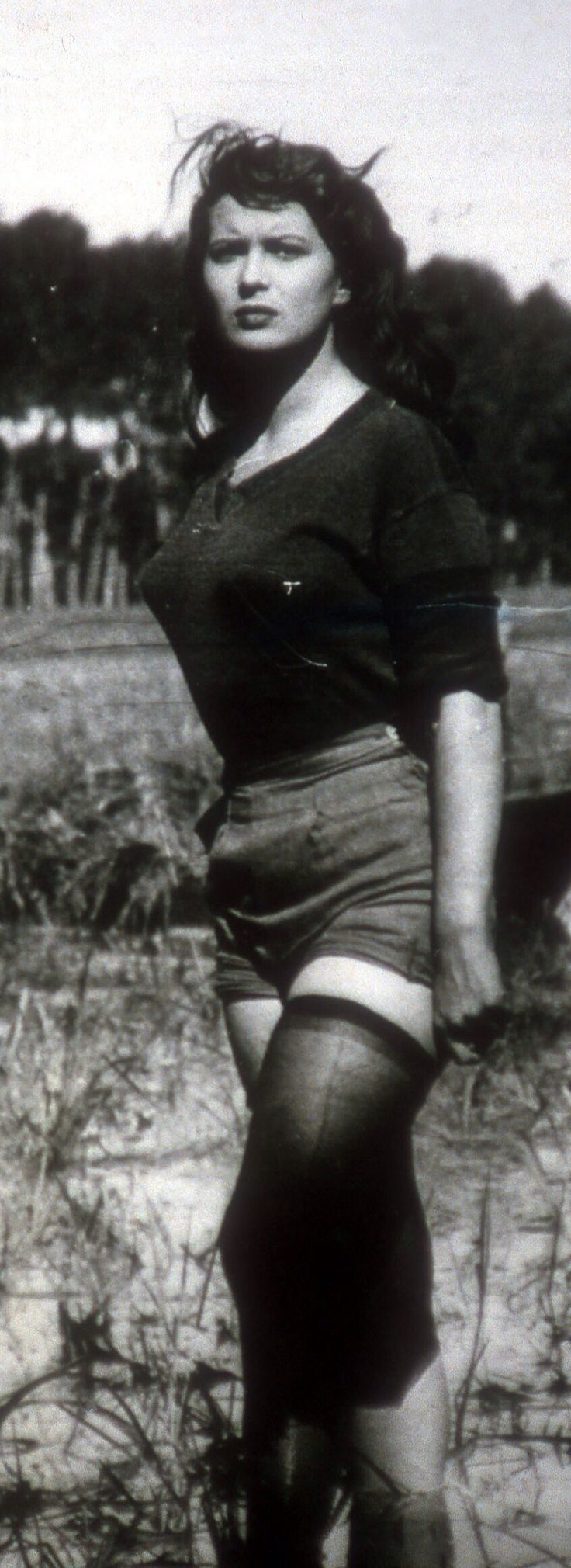 Silvana Mangano in BITTER RICE.