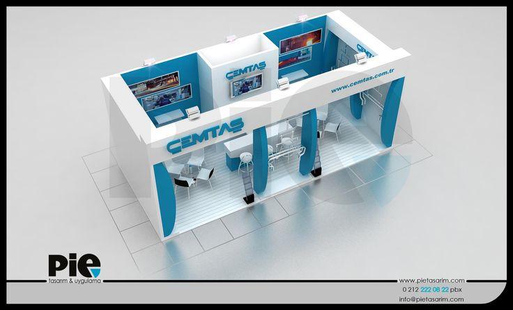 Comvex Fuarı ''ÇEMTAŞ'' Stand Tasarımımız