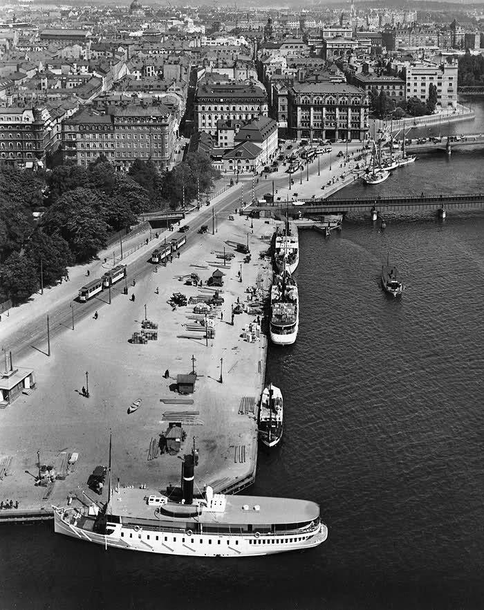 Stockholm, Tegelbacken 1920-tal