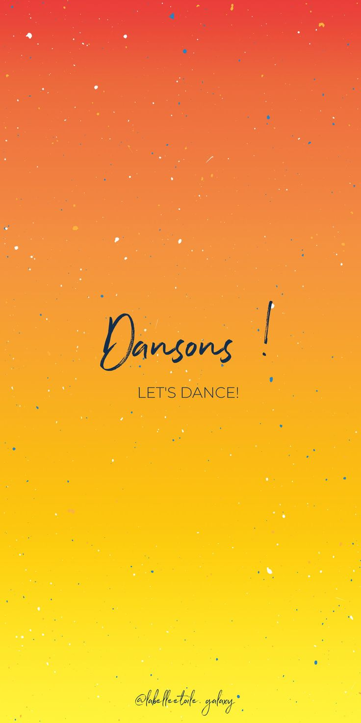 ✨ Dansons !  ✨ Let's dance! – ✨ Bonjour ✨ You are in the right pace to L…