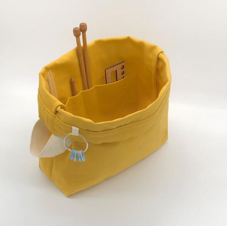 Craft This Handy And Sturdy Knitted Satchel A Perfect Handmade