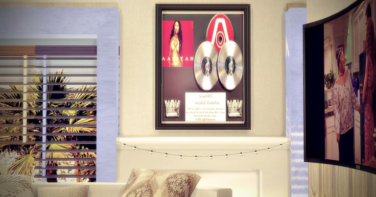 Aaliyah Picture Frame
