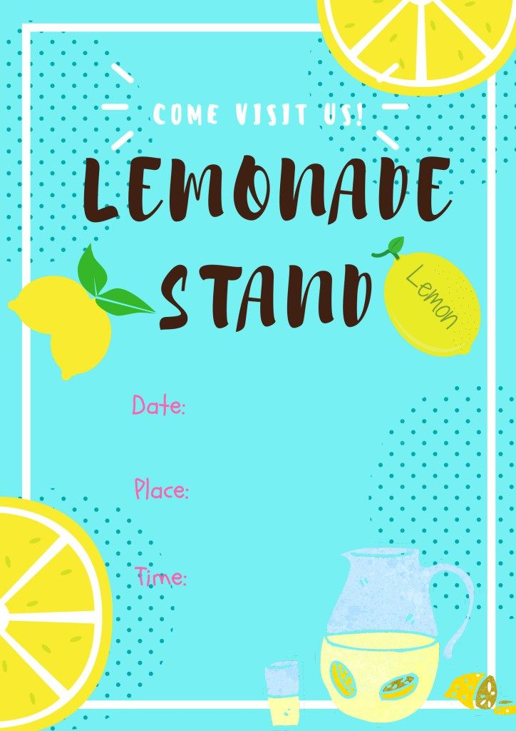 Diy Lemonade Stand That S Super Easy To Make With Free Printables Signs Diy Lemonade Stand Diy Lemonade Kids Lemonade