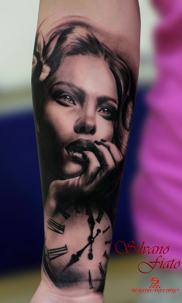 45 Awesome Portrait Tattoo Designs | Cuded