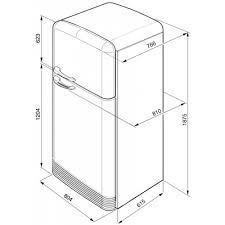 What are the standard refrigerator sizes?