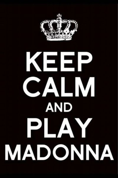 """Keep Calm """"MADONNA"""" Art Print by PSimages 