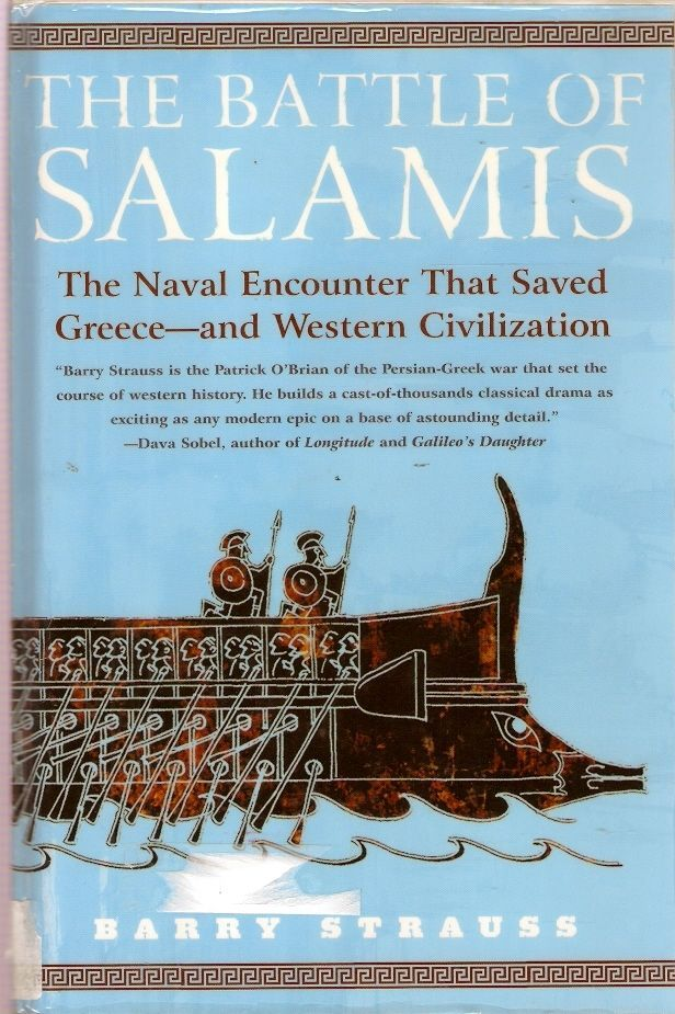 BATTLE SALAMIS. In this account, historian Barry Strauss introduces us to the characters whose decisions altered history: Themistocles, Athens' great leader, who devised the ingenious strategy that effectively destroyed the Persian navy in one day; Xerxes, the Persian king who did not understand the sea; Aeschylus, the playwright who served in the battle & later wrote about it; & Artemisia, the only woman commander known from antiquity, who turned defeat into personal triumph.
