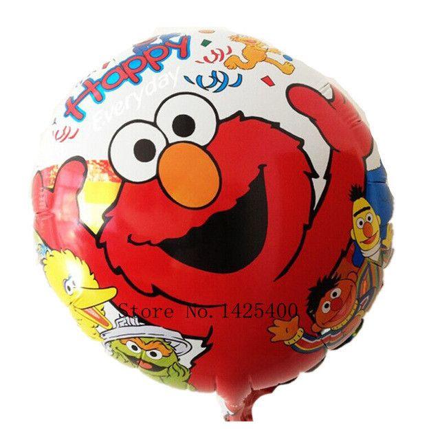 Free shipping Bare aluminum foil balloons cartoon balloon wedding room decoration children's toys balloon wholesale