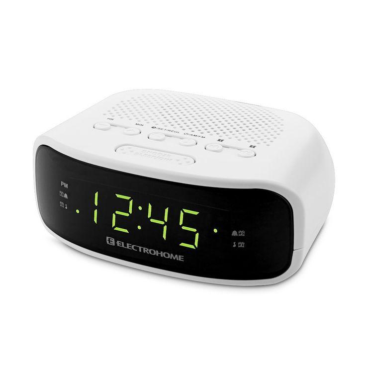 Electrohome Digital AM FM Clock Radio