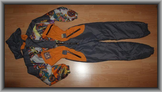 Kombinezon narciarski z kapturem Biting rozm 164