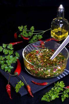 salsa chimichurri para la carne