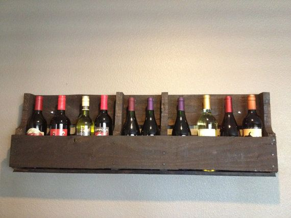 Recycled Pallet Shelf by ShopLaughLove on Etsy, $40.00