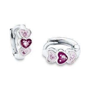Prinzessin Lillifee - 433976 - Boucles d'Oreille Enfant - Argent 925/1000 1.3 Gr - Zirconium - http://www.wonderfulworldofjewelry.com/jewelry/childrens-jewelry/prinzessin-lillifee-433976-boucles-d39oreille-enfant-argent-9251000-13-gr-zirconium-fr/ - Your First Choice for Jewelry and Jewellery Accessories