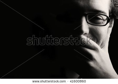 http://thumb1.shutterstock.com/display_pic_with_logo/477424/477424,1259085927,4/stock-photo-close-up-of-young-smiling-man-resting-chin-on-palm-low-key-black-and-white-41600860.jpg