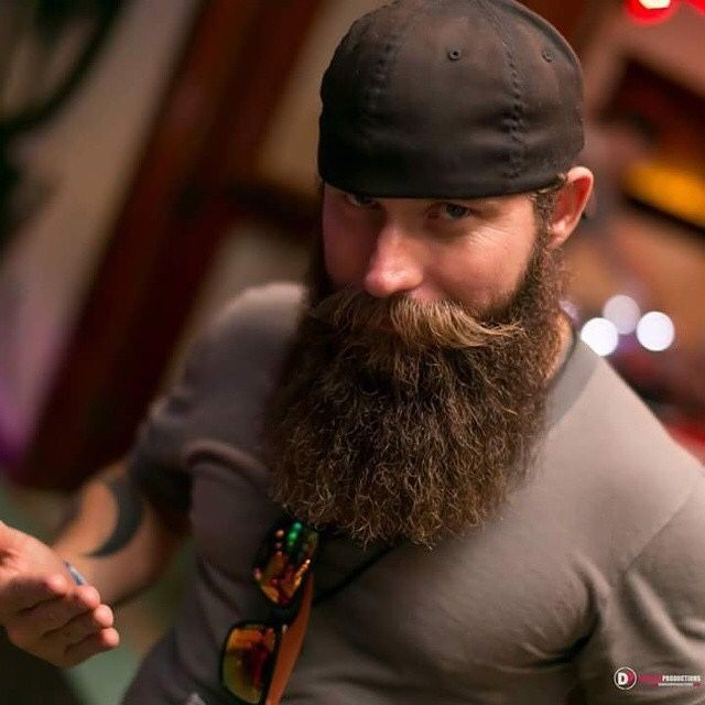Haha I know this guy and I've always had a crush on his beard.