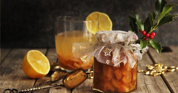 Přemýšlíte o dárcích na Vánoce? Máte rádi jedlé dárky, které jsou podomácku vyrobené ? A máte rádi štiplavý zázvorový čaj s citronem, kte...