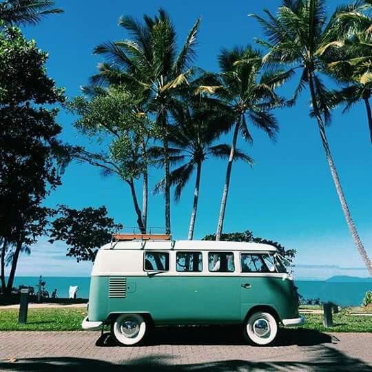 Van life | VW car | Beach fun | summer Fun | Palm tress | Vanagon | bus life | world travel | Road Trips | Camper Van | Camping | Camp life | mobile home