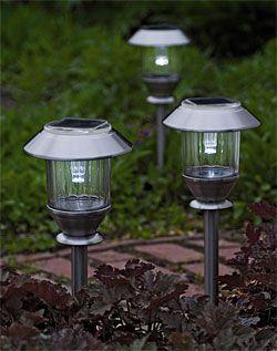 how to choose solar garden lights backyard