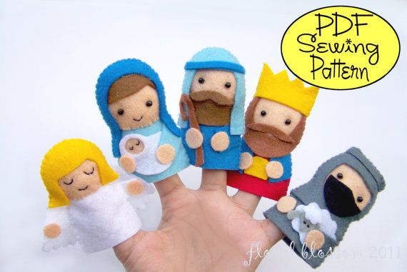 Hey, I found this really awesome Etsy listing at http://www.etsy.com/listing/88842915/pdf-pattern-nativity-finger-puppets
