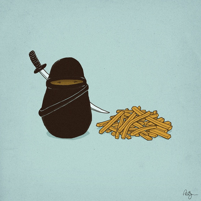 Potato Ninja: how fries are really made!