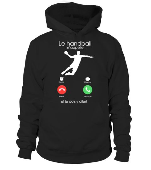 Tshirt  Le Handball m'appelle  fashion for men #tshirtforwomen #tshirtfashion #tshirtforwoment