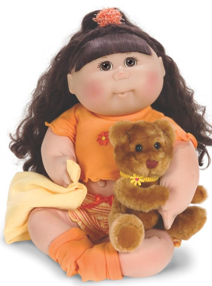 Cabbage Patch Kids, o Muñeca Repollo. Adoptala