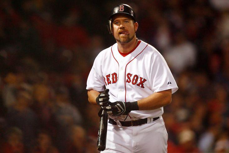 Sean Casey with the Red Sox
