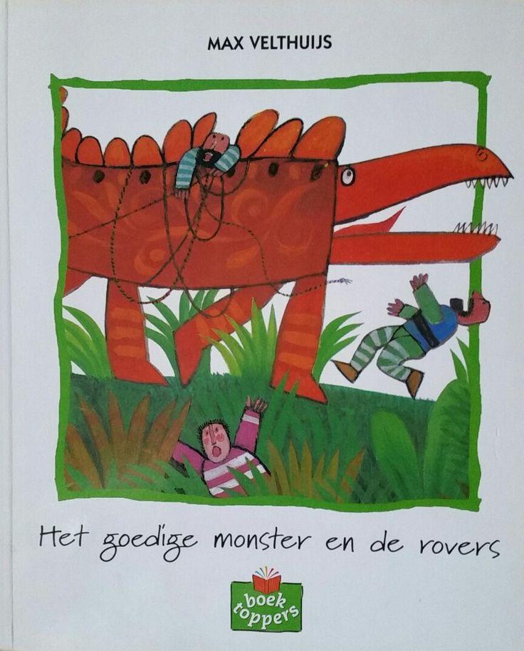 """Prentenboek """"Het goedige monster en de rovers """""""