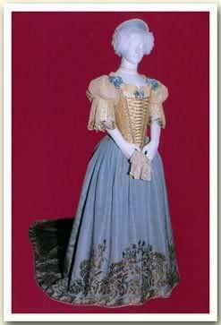Dress of Empress Elisabeth of Austria