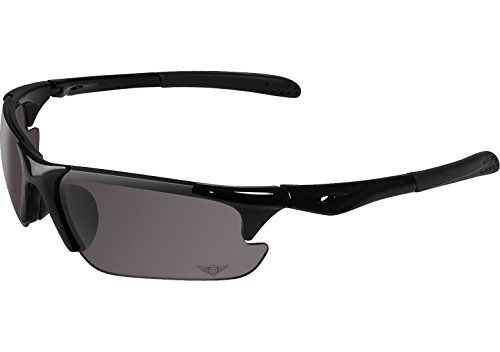 Maxx Sunglasses Rough Rider Black 11 HD Polarized Smoke Lenses Sunglasses *** Visit the image link more details.