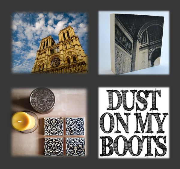 Dust on my boots