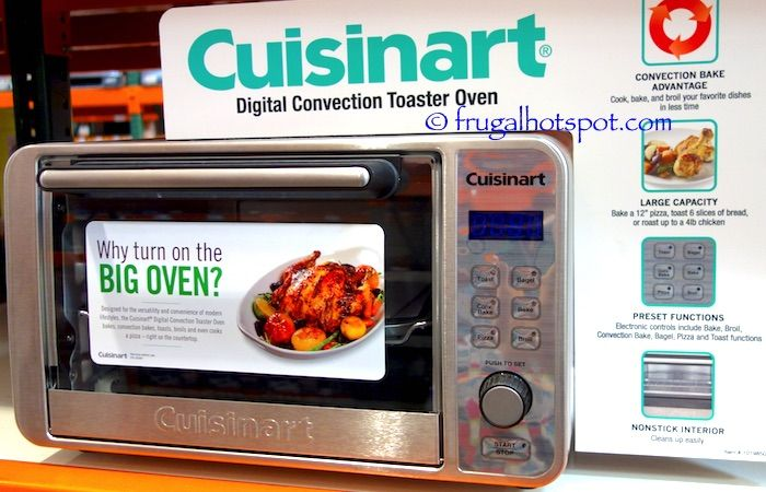 Countertop Oven Costco : Cuisinart Digital Convection Toaster Oven. #Costco #FrugalHotspot