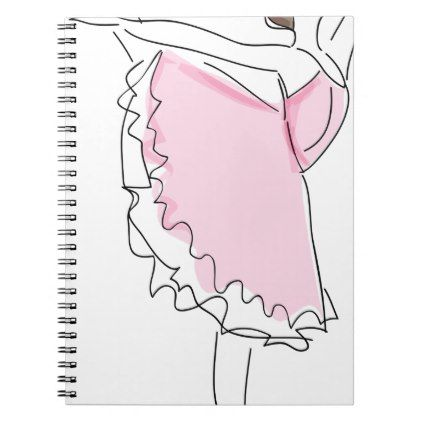 Ballerina Sketch Notebook  $15.40  by Gridly  - cyo diy customize personalize unique