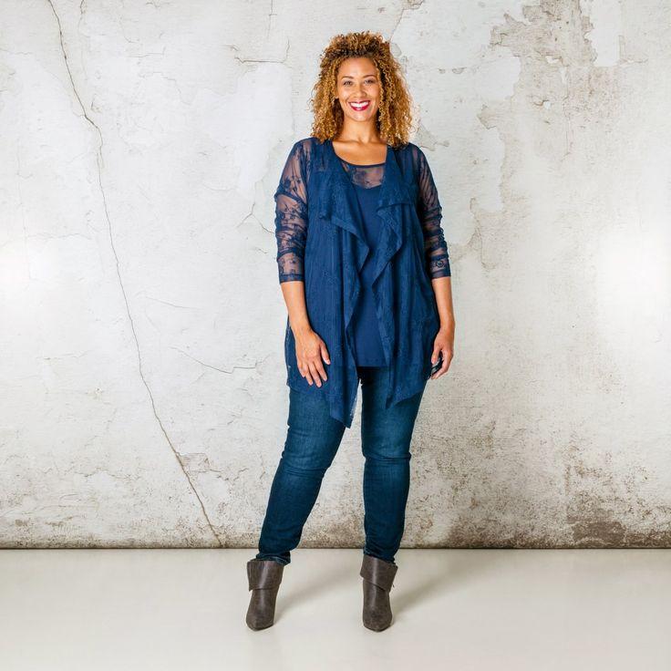 X-two vest – Grote maten mode | Dameskleding online