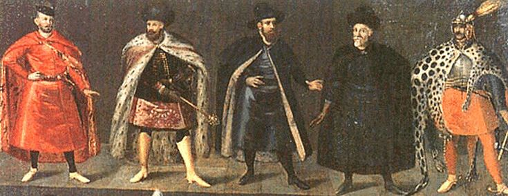 Polish noblemen, early 17th century.