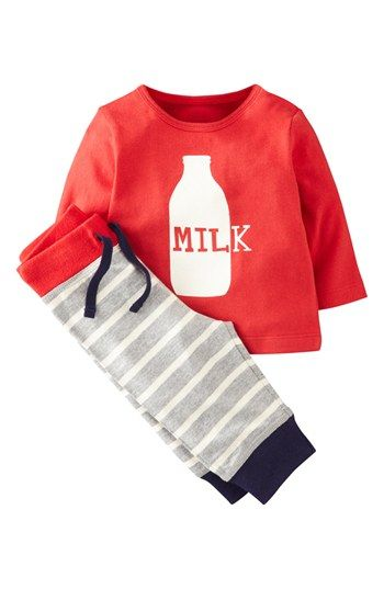 Mini Boden Shirt & Leggings (Baby Boys) available at #Nordstrom