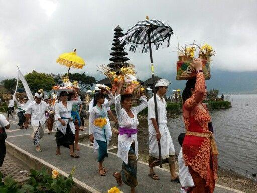 One of ritual in Bali