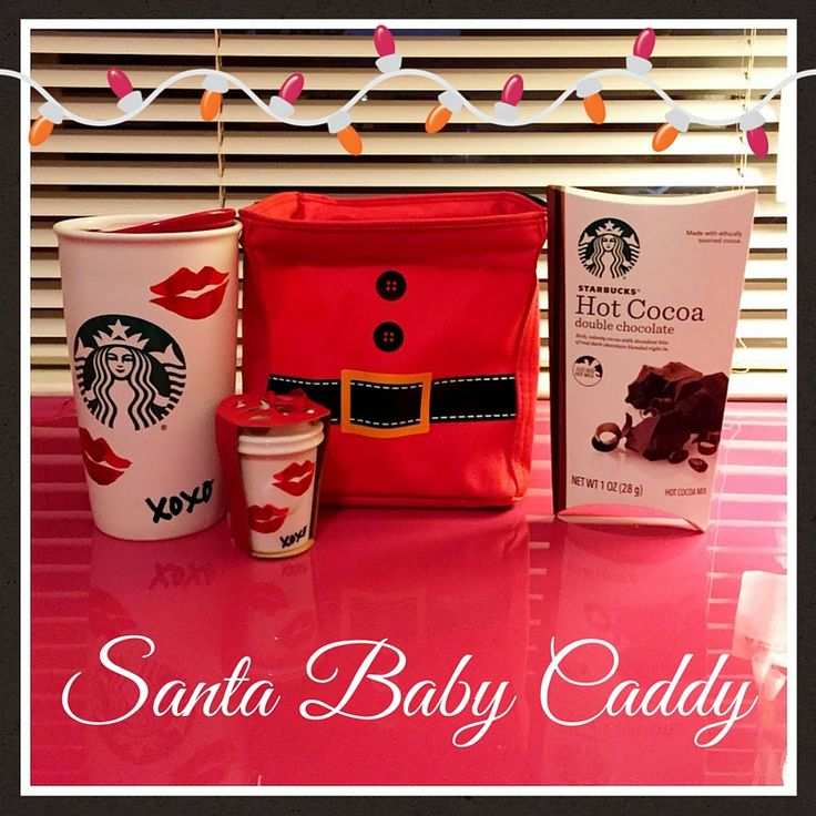 Santa Baby themed Littles Carry All Caddy holiday gift Thirty One Gifts.