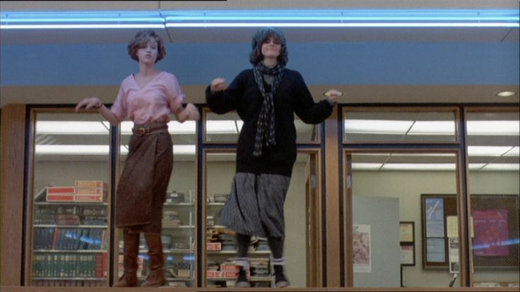The Breakfast Club: i still love this movie and will watch if its  on. i loved Molly Ringwald back in the day. I wanted to look just like her. Her hair, her clothes, her nails. (sigh).