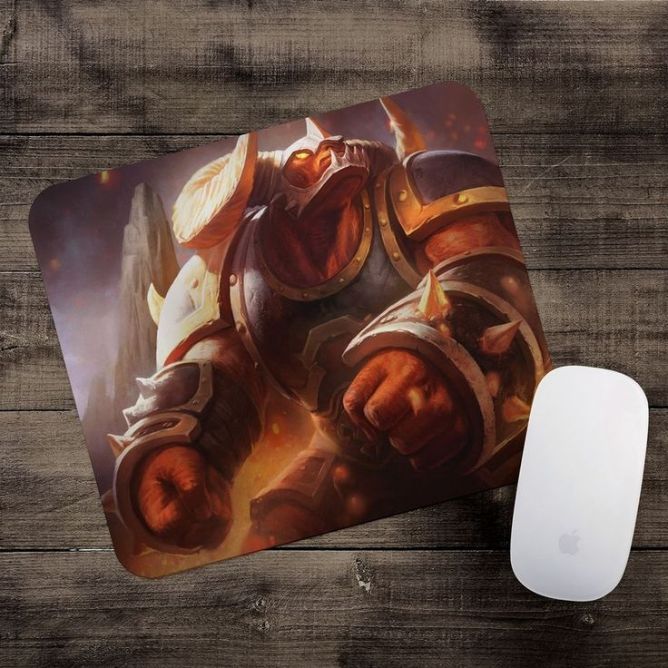 Infernal Alistar Mousepad League of Legends mouse pad LoL gamer playmat #UnbrandedGeneric