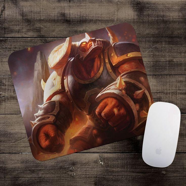 Infernal Alistar Mousepad League of Legends mouse pad LoL gamer playmat #UnbrandedGeneric