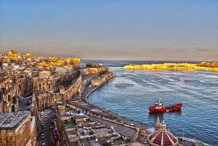 View from Valletta #Malta #viaggi #journey / seguici su www.cocoontravel.uk