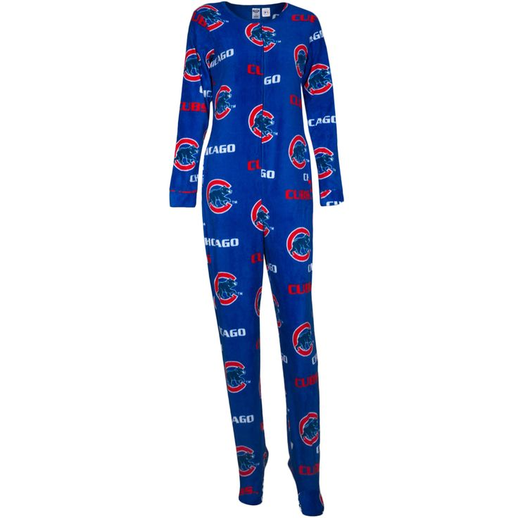 Chicago Cubs Women's Royal Onesie by College concepts #Chicago #Cubs #ChicagoCubs