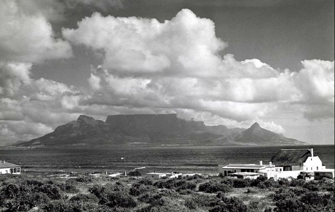 Table Mountain in 1950