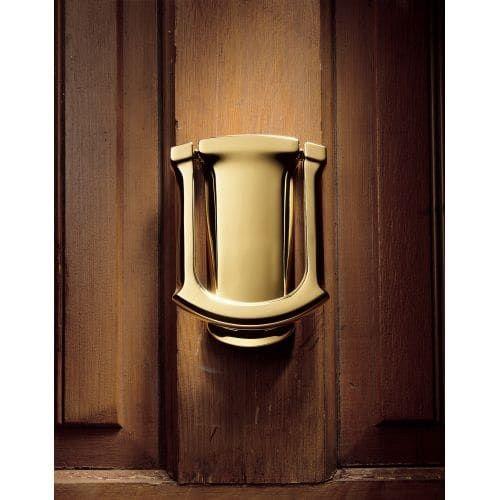 Baldwin 105 Tahoe Style Solid Brass Door Knocker (distressed oil rubbed bronze)