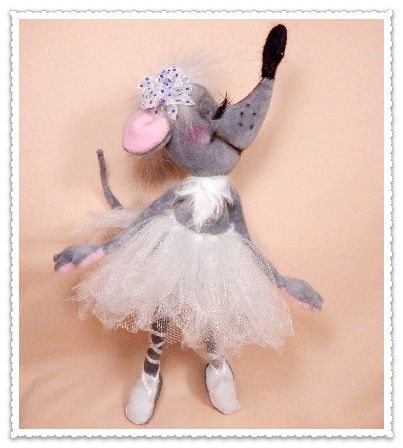 закрытый мастер-класс Тамары Фунтиковой по текстильной мышке «Ангелина…