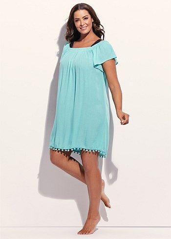 Dominica Dress #takingshape #beach #plussize #curvy