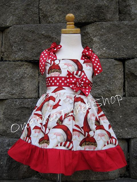 Custom Boutique Clothing Christmas Jumper Dress by amacim on Etsy, $42.99