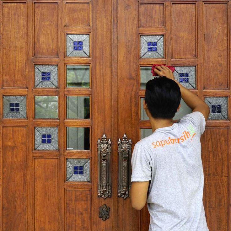 Ruang Bisnis anda ingin selalu bersih? Atur jadwal pembersihan anda sekarang bersama @sapubersih.id